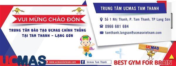 Tin vui tháng 5! Chào mừng trung tâm mới gia nhập hệ thống: UCMAS Tam Thanh - Lạng Sơn