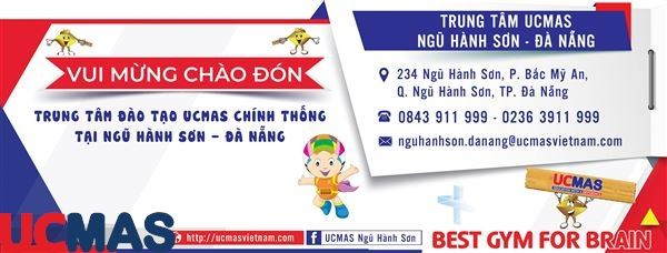 Tin vui tháng 6! Chào mừng trung tâm mới gia nhập hệ thống: UCMAS Ngũ Hành Sơn - Đà Nẵng