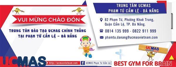 Tin vui tháng 6! Chào mừng trung tâm mới gia nhập hệ thống: UCMAS Phạm Tứ Cẩm Lệ - Đà Nẵng