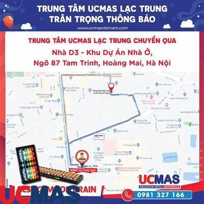 Thông báo chuyển địa điểm UCMAS Lạc Trung