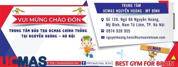 Tin vui tháng 8! Chào mừng trung tâm mới gia nhập hệ thống: UCMAS Nguyễn Hoàng - Mỹ Đình