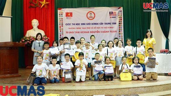 Cuộc thi HSG TT UCMAS Nguyễn Khánh Toàn ngày 28/06/2019