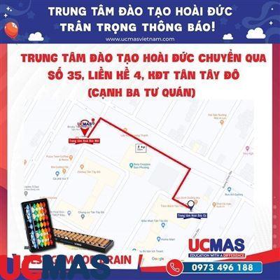 Thông báo chuyển địa điểm UCMAS Hoài Đức