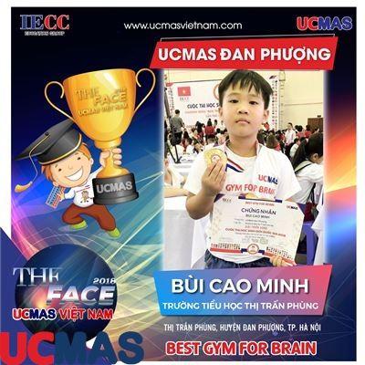 Thí sinh Bùi Cao Minh - Trường Tiểu học Thị trấn Phùng - UCMAS Đan Phượng