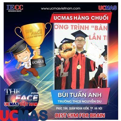 Thí sinh Bùi Tuấn Anh - Trường THCS Nguyễn Du - UCMAS Hàng Chuối