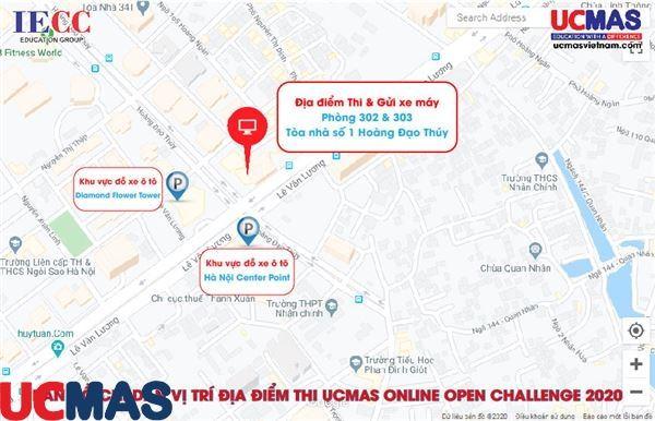 Những điều cần biết về Cuộc thi UCMAS ONLINE OPEN CHALLENGE 2020