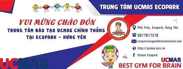 Tin vui tháng 6! Chào mừng trung tâm mới gia nhập hệ thống: UCMAS Ecopark Hưng Yên