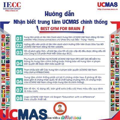 8 dấu hiệu nhận biết trung tâm UCMAS chính thống tại Việt Nam
