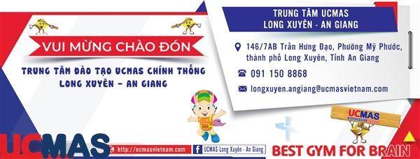Tin vui tháng 10 Chào mừng trung tâm mới gia nhập hệ thống: UCMAS Long Xuyên - An Giang