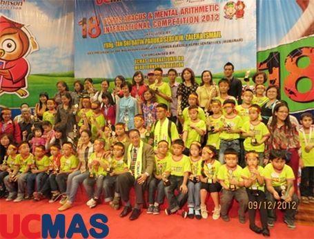 Báo Dân Trí - Việt Nam đoạt cúp Siêu vô địch tại cuộc thi UCMAS Quốc tế