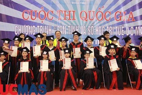 """Báo infonet.vn - """"Bàn tính và Số học trí tuệ UCMAS"""" đã tìm ra người chiến thắng"""