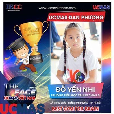 Đỗ Yến Nhi - Trường Tiểu học Trung Châu B - UCMAS Đan Phượng