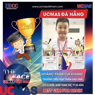 Hoàng Trần Gia Khang - Trường Tiểu học Trần Cao Vân - UCMAS Đà Nẵng