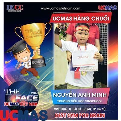 Nguyễn Anh Minh - Trường Tiểu học Vinschool - UCMAS Hàng Chuối