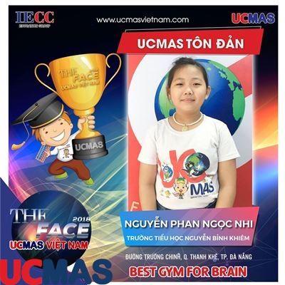 Nguyễn Phan Ngọc Nhi - Trường Tiểu học Nguyễn Bỉnh Khiêm - UCMAS Tôn Đản - Đã Nẵng