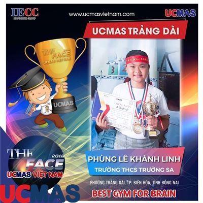 Phùng Lê Khánh Linh - Trường THCS Trường Sa - UCMAS Trảng Dài - Biên Hòa
