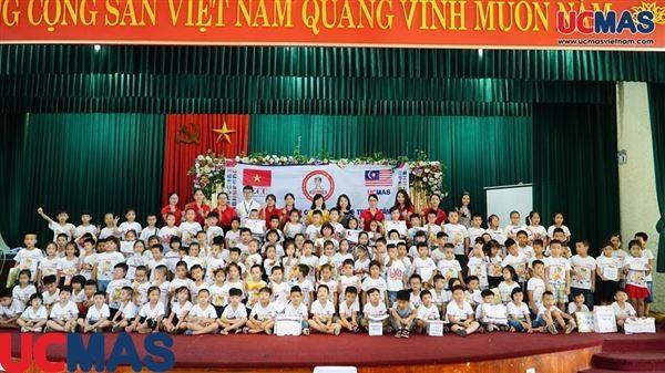 Cuộc thi HSG TT UCMAS Thanh Trì 06/07/2019