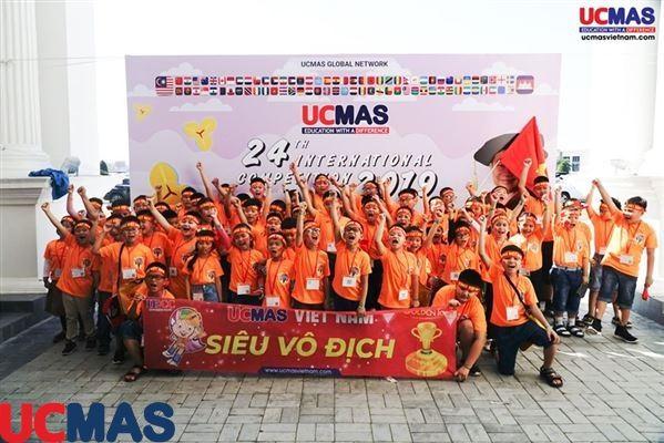 Chúc mừng UCMAS Việt Nam - Cuộc Thi Học Sinh Giỏi UCMAS Quốc Tế lần thứ 24 - Campuchia