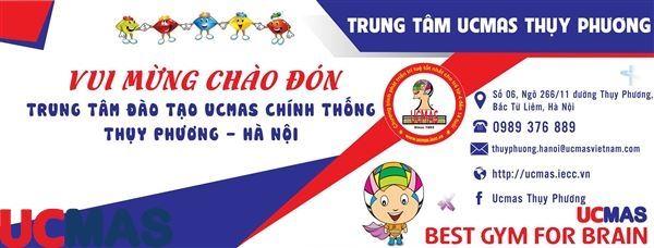 Tin vui tháng 8! Chào mừng trung tâm mới gia nhập hệ thống: UCMAS Thụy Phương - Hà Nội