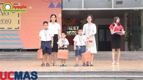 Vinh danh HSGQG 2018 - Trường liên cấp Everest - Cầu Giấy