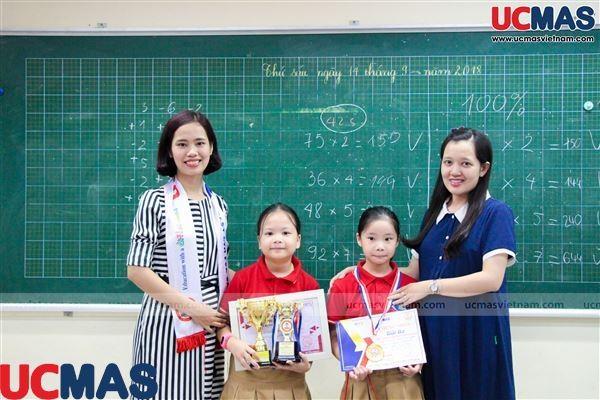 Vinh danh HSGQG UCMAS 2018 - Trường TH Phan Đình Giót
