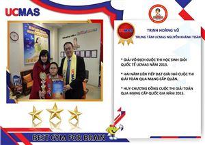 Thành tích của học sinh UCMAS