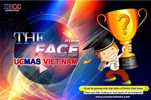 The Face UCMAS Việt Nam 2018