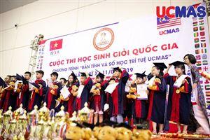 Cuộc thi Học sinh giỏi Quốc gia UCMAS năm 2019