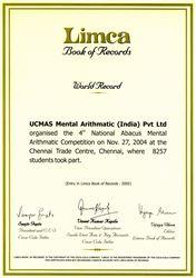 Ghi danh vào sách Kỷ lục Thế giới LIMCA 2005
