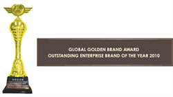 Đạt Giải thưởng Thương hiệu Vàng Toàn cầu - Global Golden Brand