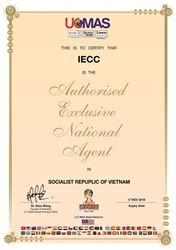 Chứng nhận IECC độc quyền UCMAS tại Việt Nam