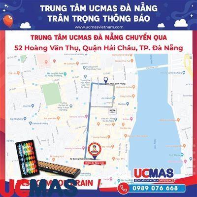 Thông báo chuyển địa điểm UCMAS Đà Nẵng