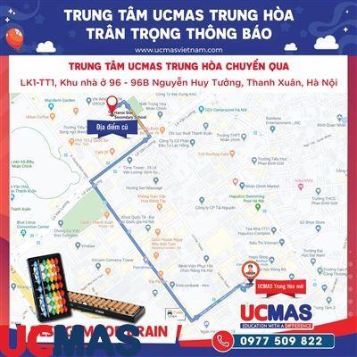 Thông báo chuyển địa điểm UCMAS Trung Hòa