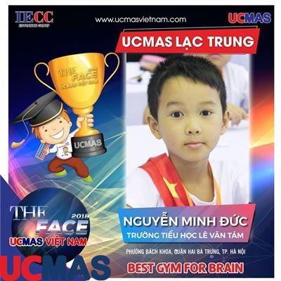 Thí sinh Nguyễn Minh Đức - Trường Tiểu học Lê Văn Tám - UCMAS Lạc Trung