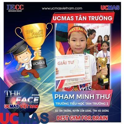 Thí sinh Phạm Minh Thư - Trường Tiểu học Tân Trường 2 - UCMAS Tân Trường