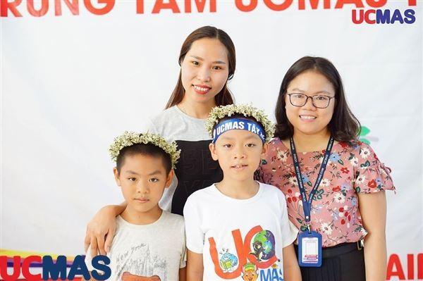 Cuộc thi Học sinh giỏi trung tâm UCMAS Tây Hồ ngày 30/06/2018