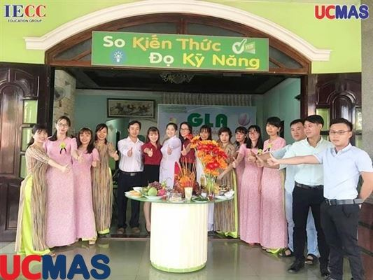 Khai trương 8 trung tâm UCMAS tại tỉnh Bình Phước