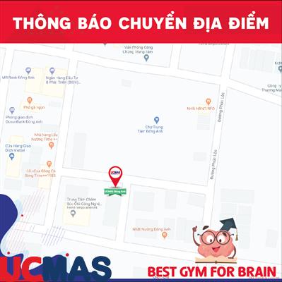 Thông báo chuyển địa điểm UCMAS Đông Anh