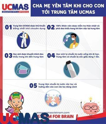 5 Lý Do Khiến Cha Mẹ Hoàn Toàn Yên Tâm Khi Cho Con Theo Học Tại UCMAS