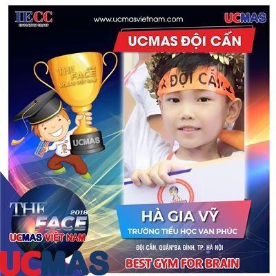 Thí sinh Hà Gia Vỹ - Trường Tiểu học Vạn Phúc - UCMAS Đội Cấn