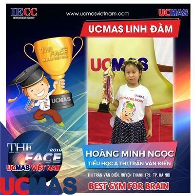 Thí sinh Hoàng Minh Ngọc - Trường tiểu học A Thị trấn Văn Điển - UCMAS Linh Đàm