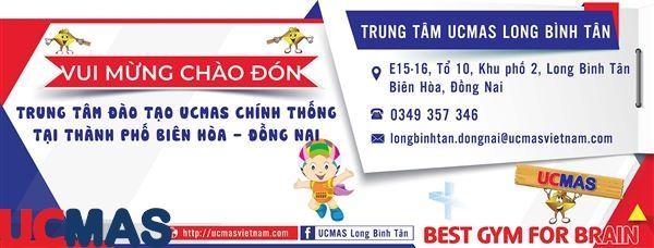 Tin vui tháng 09! Chào mừng trung tâm mới gia nhập hệ thống: UCMAS Long Bình Tân - Đồng Nai