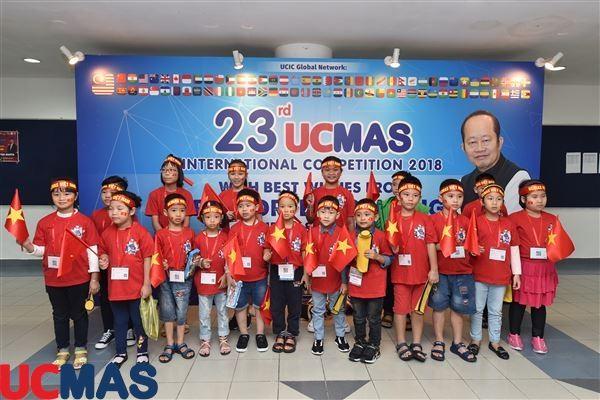 Hành trình cuộc thi Học sinh giỏi Quốc tế UCMAS 2018