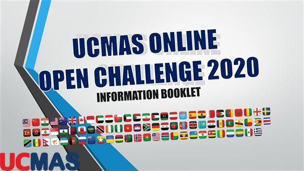 Quy chế cuộc thi UCMAS ONLINE OPEN CHALLENGE 2020
