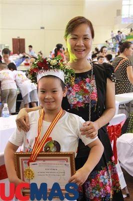 Báo An Ninh Thủ Đô viết về Cuộc thi quốc tế Bàn tính và số học trí tuệ UCMAS