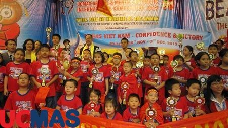 """Báo Dân Trí - UCMAS Việt Nam khẳng định vị thế tại cuộc thi """"Bàn tính và Số học Trí tuệ"""""""