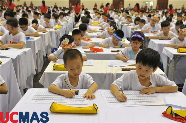 Choáng ngợp trước khả năng của học sinh UCMAS trong cuộc thi HSG quốc gia 2017