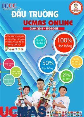 Cuộc thi đấu trường ucmas online lần thứ 4 – 2018
