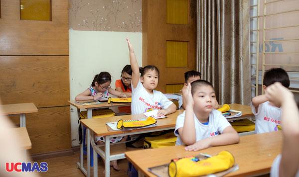 1 lớp học toán tư duy lớp 4 tại ucmas