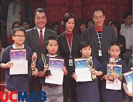 Báo Giáo Dục Thời Đại - 11 HS Việt Nam đoạt giải cuộc thi Bàn tính số học trí tuệ quốc tế